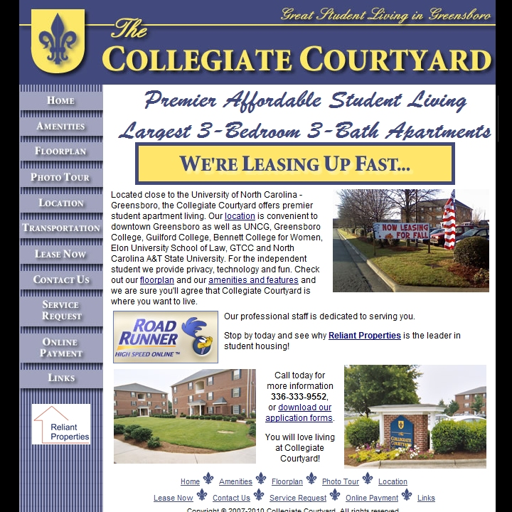 Collegiate Courtyard